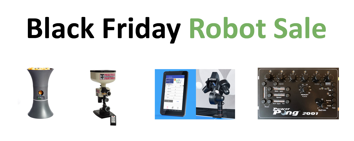 Black Friday Robot Sale
