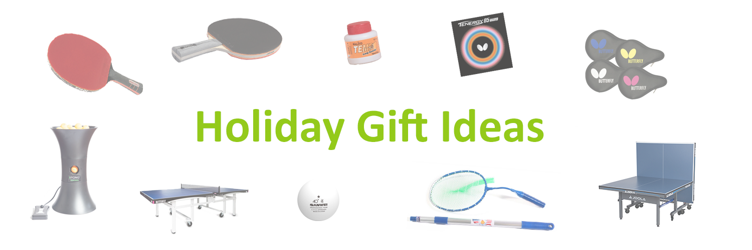 Ping-Pong Gift Ideas
