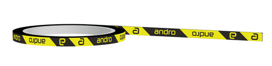 Andro Edge Tape - CI Black/Yellow - 12mm x 1m (1 racket)