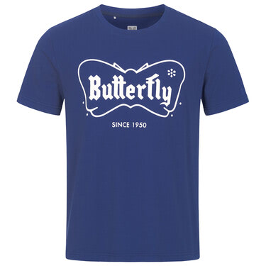 Butterfly 70th Anniversary T-Shirt - Navy