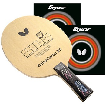 Butterfly BalsaCarbo X5 Proline w/Bryce