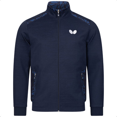 Butterfly Higo Tracksuit Jacket - Blue