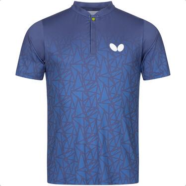 Butterfly Higo Shirt - Blue