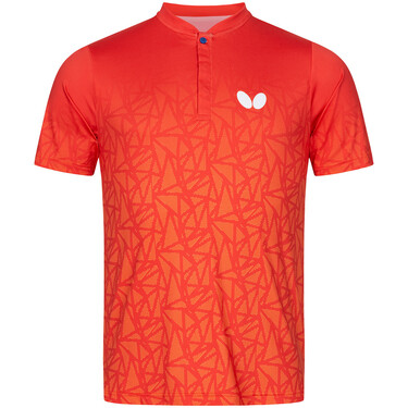 Butterfly Higo Shirt - Red