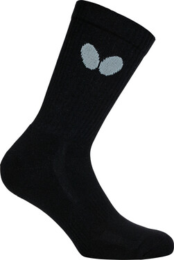 Butterfly Jiro Socks - Black