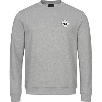 Butterfly Kihon Tracksuit Sweatshirt - Grey