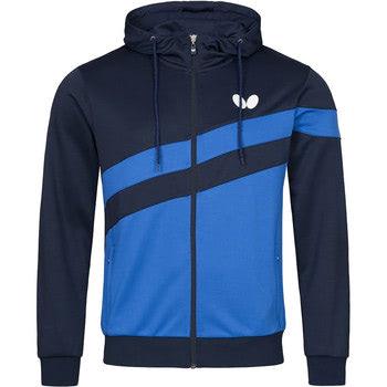 Butterfly Kisa Tracksuit Jacket - Azure Blue