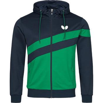 Butterfly Kisa Tracksuit Jacket - Green