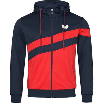 Butterfly Kisa Tracksuit Jacket - Red