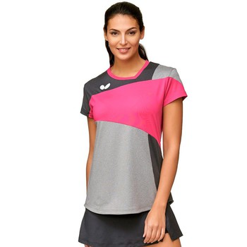 Butterfly Mito Lady T-Shirt - Magenta
