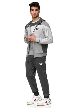 Butterfly Mito Tracksuit Pants - Grey