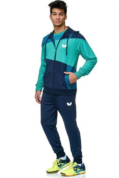 Butterfly Mito Tracksuit Pants - Navy