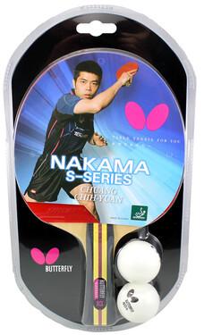 Butterfly Nakama S-2 w/2 Balls