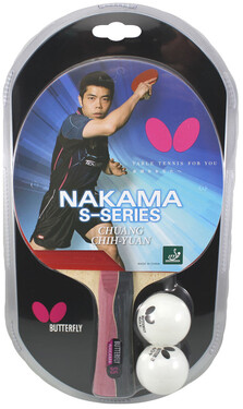 Butterfly Nakama S-5 w/2 Balls