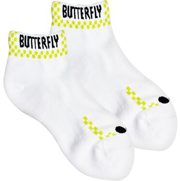 Butterfly Patnarl Socks - Lime Green