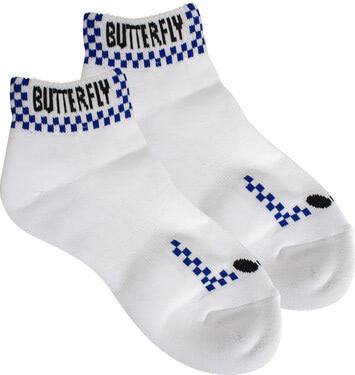 Butterfly Patnarl Socks - Navy