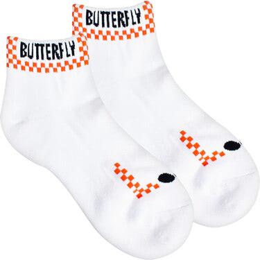 Butterfly Patnarl Socks - Orange