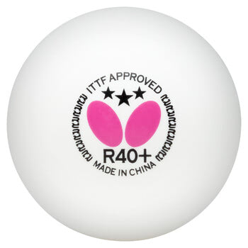 Butterfly 3-Star Ball R40+ - Pack of 3