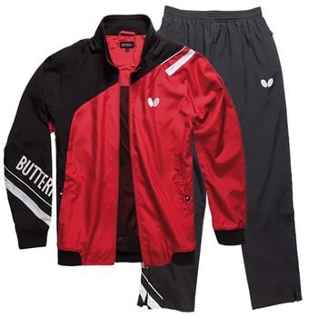 Butterfly Taori Tracksuit - Red