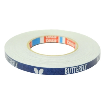 Butterfly Side Tape Cloth - 12mm x 50m - Blue/Silver