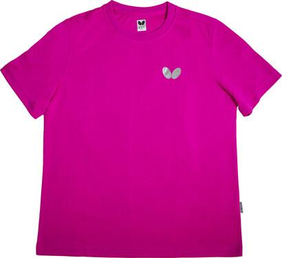 Butterfly Winlogo T-Shirt - Rose