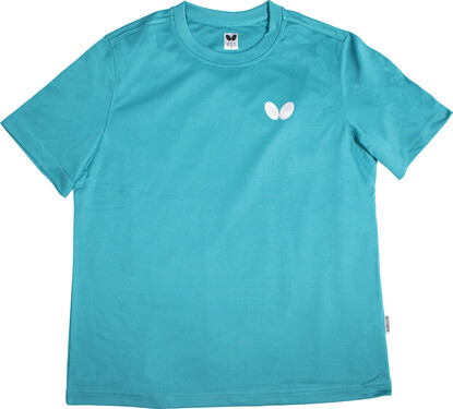 Butterfly Winlogo T-Shirt - Turquoise
