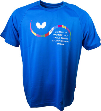 Butterfly 2020 WTTC T-Shirt - Blue