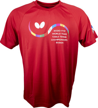 Butterfly 2020 WTTC T-Shirt - Red