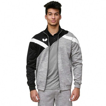 Butterfly Yao Tracksuit Jacket - Black