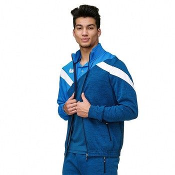 Butterfly Yao Tracksuit Jacket - Blue