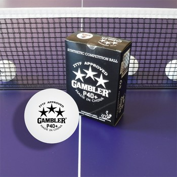 Gambler P40+ 3-Star Balls - Pack of 6