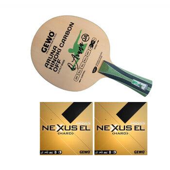 GEWO Aruna Hinoki Carbon w/Nexxus EL Pro 53 Hard