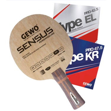 GEWO Sensus Powerfeeling w/Hype KR Pro 47.5 and Hype EL Pro 42.5
