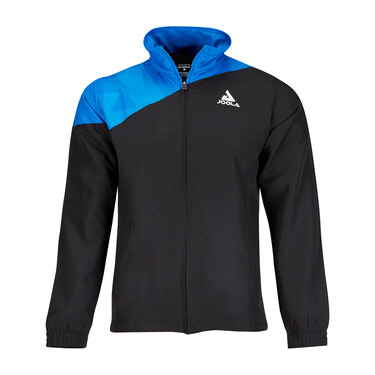 JOOLA Ace Tracksuit Jacket - Black/Blue