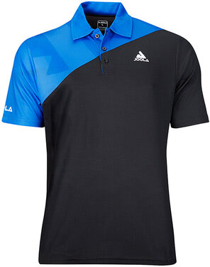 JOOLA Ace Shirt - Black/Blue
