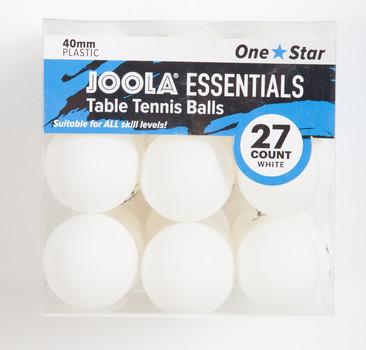 JOOLA Essentials Table Tennis Balls - Pack of 27