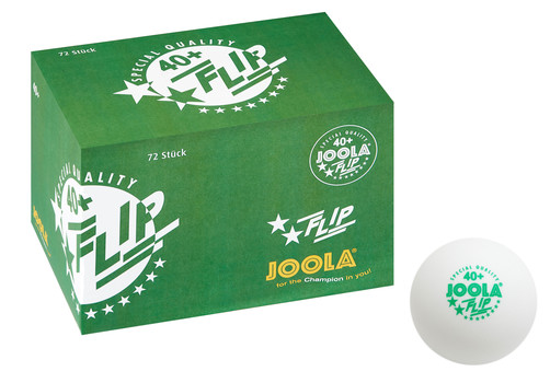 JOOLA Flip Balls Seamless Poly Balls - Pack of 72