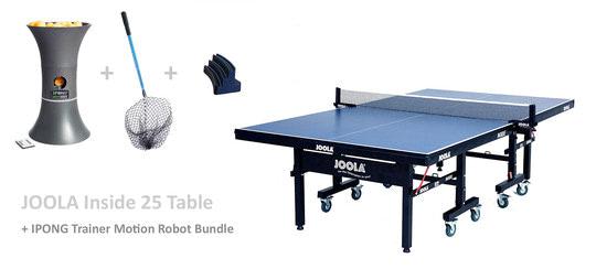 JOOLA Inside 25 w/IPONG Robot Bundle