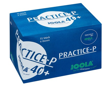 JOOLA Practice-P Balls - Pack of 72