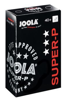 JOOLA Super-P 3-Star Poly Ball - Pack of 6