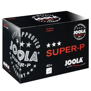 JOOLA Super-P 3-Star Poly Ball - Pack of 72