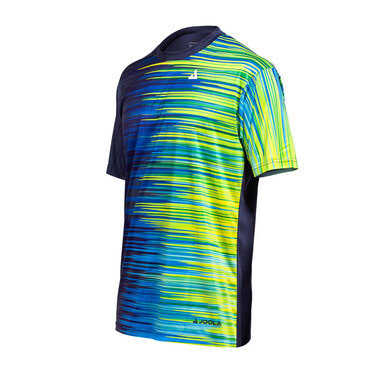 JOOLA Synchro Shirt - Navy/Lime