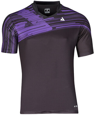 JOOLA Trigon Shirt - Black/Purple
