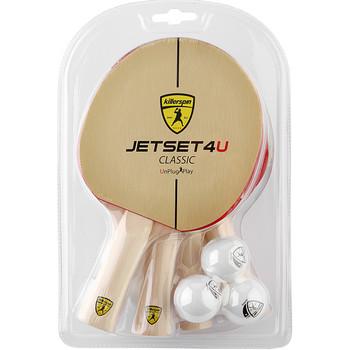 Killerspin Jet Set Classic 4U - 4 racket set