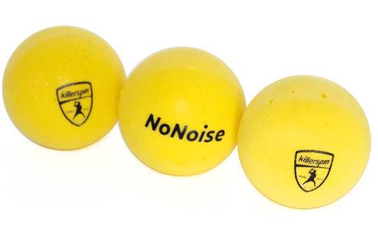 Killerspin NoNoise Balls - Pack of 3