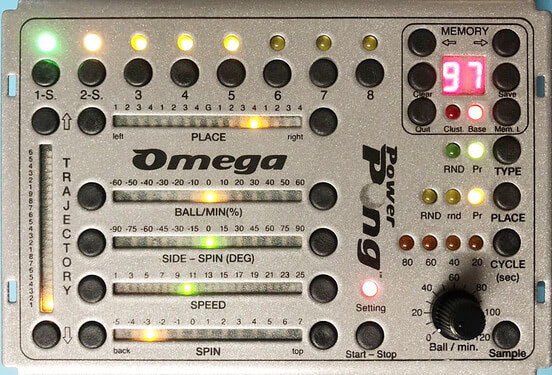 Power Pong Omega - w/Tablet and Control Box
