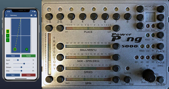 Power Pong 2000 to Power Pong 5000 Upgrade Kit