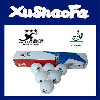 XuShaoFa (XSF) 3-Star Poly Ball 40+ - Pack of 72 (Asia)