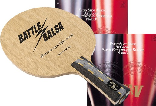 Yasaka Battle Balsa w/Mark V