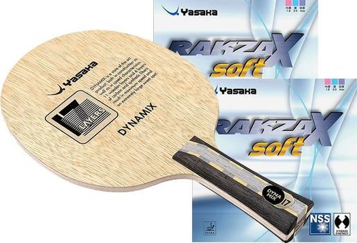 Yasaka Dynamix 17 w/Rakza X Soft